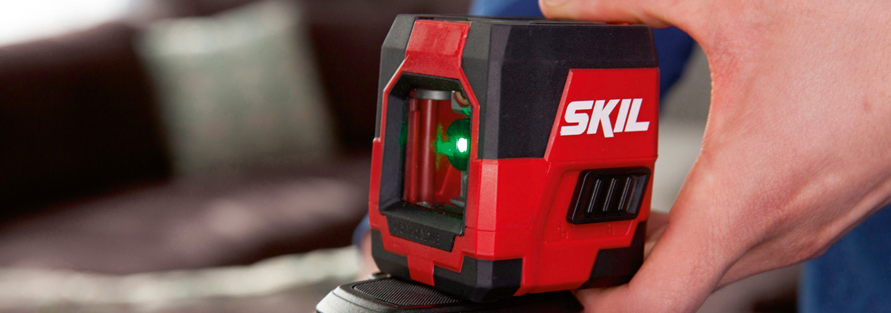 Nivelação a laser