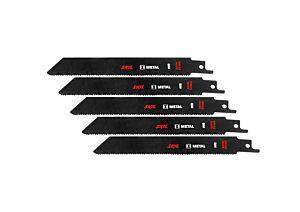 SKIL Jogo de 5 lâminas de serra para metal BIM